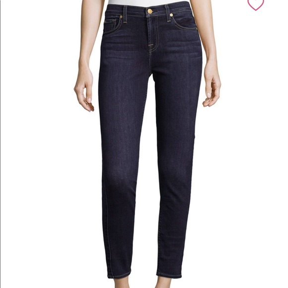 7 For All Mankind Denim - 7 For All Mankind ankle Gwenevere Skinny Jeans 30